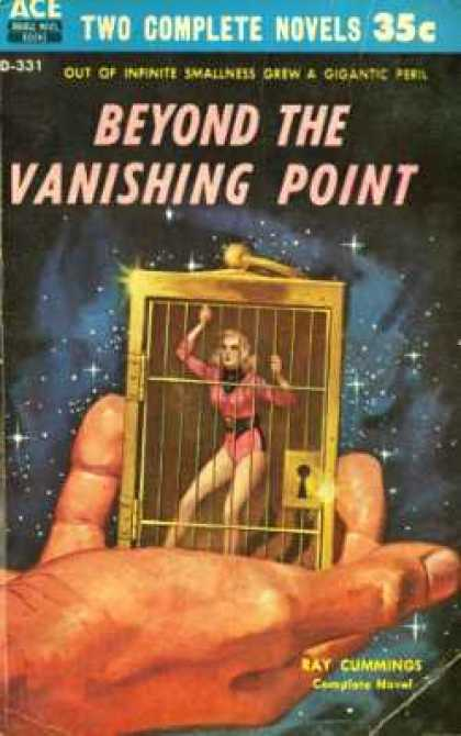 Ace Books - Beyond the Vanishing Point - Raymond King Cummings