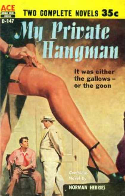 Ace Books - My Private Hangman - Norman Herries