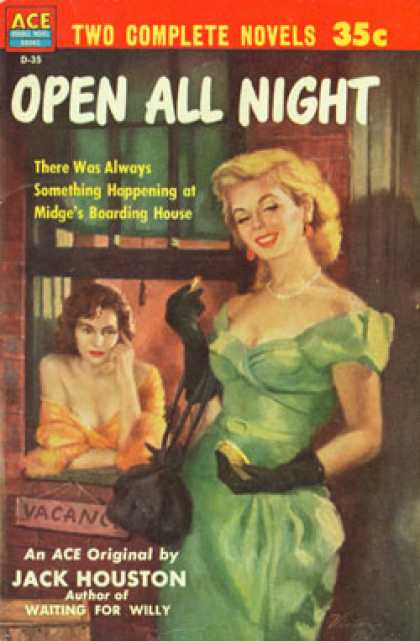 Ace Books - The Marina Street Girls / Open All Night - Rae Loomis