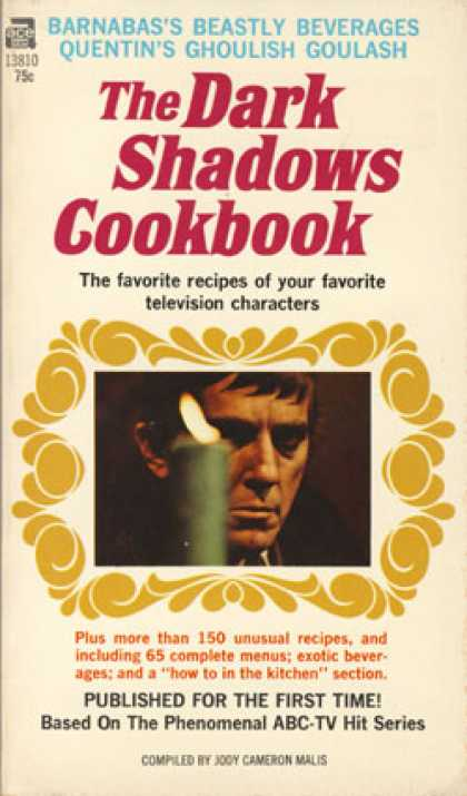 Ace Books - The Dark Shadows Cookbook - Jody Cameron Malis