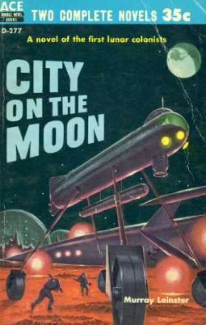 Ace Books - City On the Moon - Murray Leinster