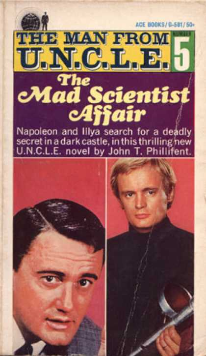 Ace Books - The Man From U.n.c.l.e. #5: The Mad Scientist Affair - John T. Phillifent