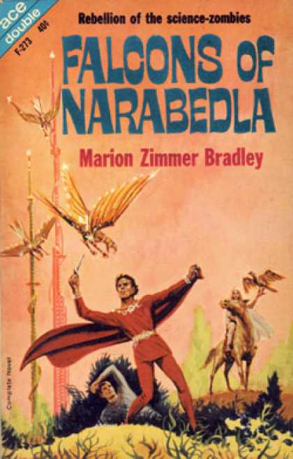 Ace Books - Falcons of Narabedla / the Dark Intruder