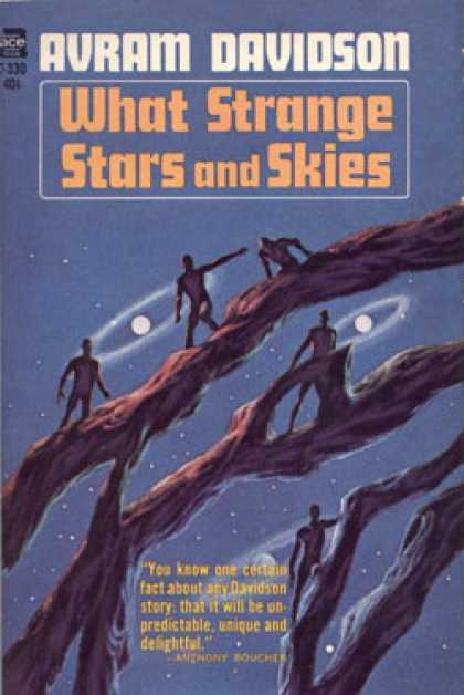 Ace Books - What Strange Stars and Skies - Avram Davidson