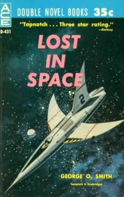Ace Books - Lost In Space and Earth's Last Fortress - George O. and Van Vogt, A. E. Smith