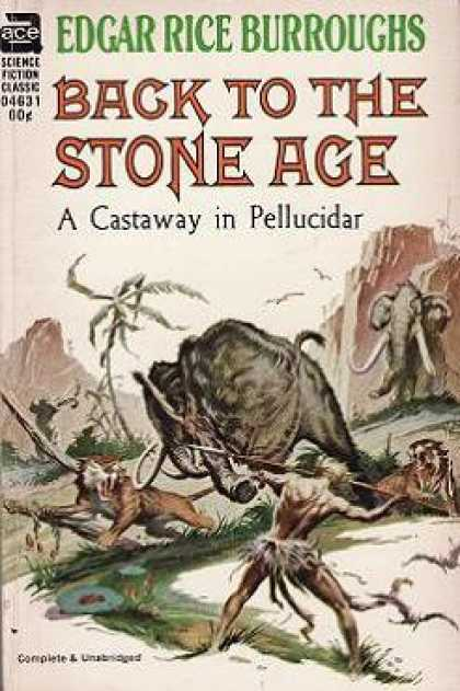 Ace Books - Back To the Stone Age (ace Sf Classic F-245) - Edgar Rice Burroughs