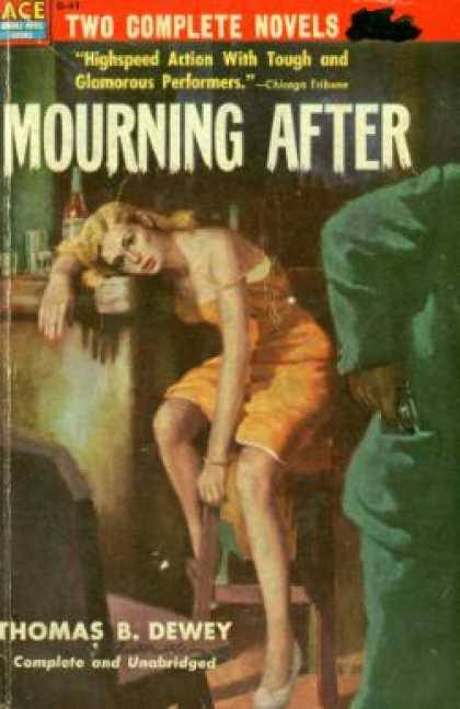 Ace Books - Death House Doll/ Mourning After - Day/ Dewey Thomas B. Keene