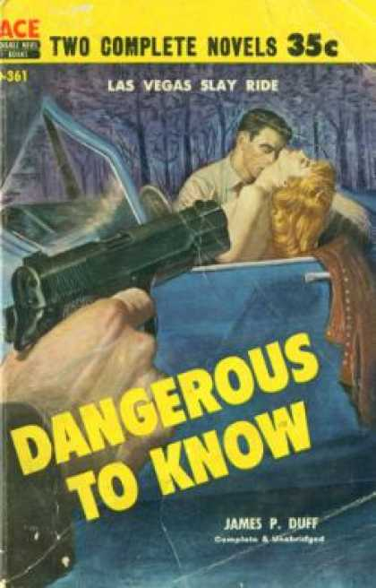 Ace Books - Dangerous To Know / Murder Mistress - James P. / Colby, Robert Duff