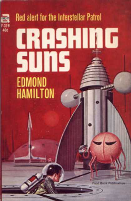Ace Books - Crashing Suns - Edmond Hamilton