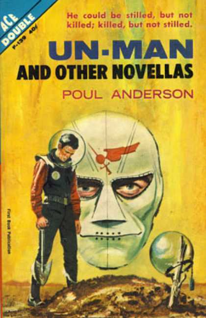 Ace Books - Un-Man and Other Novellas - Poul Anderson