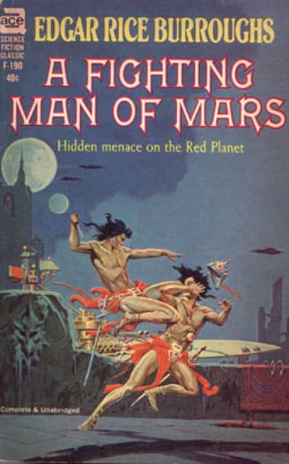 Ace Books - A Fighting Man of Mars - Edgar Rice Burroughs