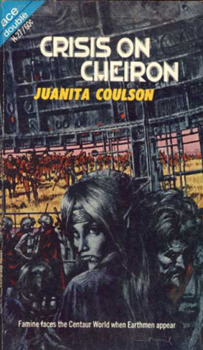 Ace Books - The Winds of Gath and Crisis On Cheiron - E. C. and Coulson, Juanita Tubb