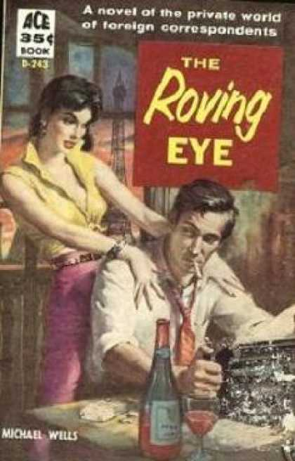 Ace Books - The Roving Eye - Michael Wells