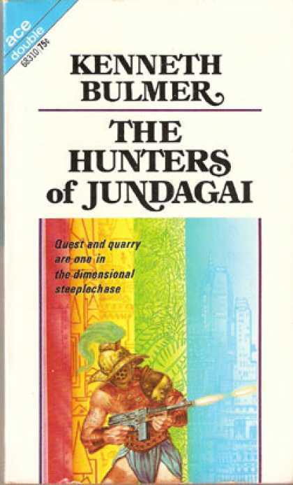 Ace Books - The Hunters of Jundagai / Project Jove - Kenneth Bulmer