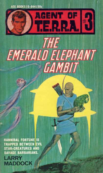 Ace Books - The Emerald Elephant Gambit, Agent of T.e.r.r.a. #3 - Larry Maddock