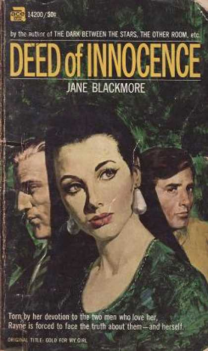 Ace Books - Deed of Innocence - Jane Blackmore