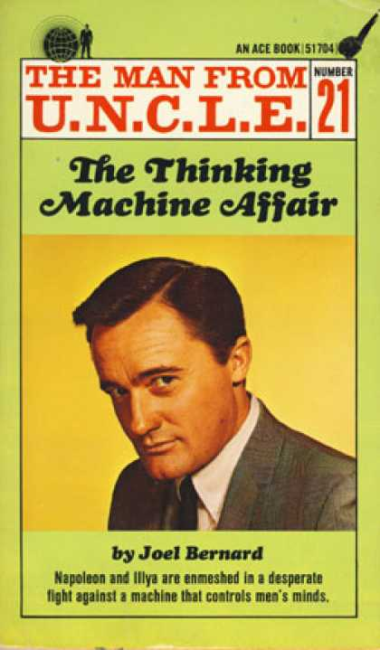 Ace Books - The Thinking Machine Affair: The Man From U.n.c.l.e. Number 21 - Joel Bernard