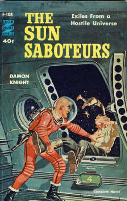 Ace Books - The Sun Saboteurs / the Light of Lilith - Damon Knight