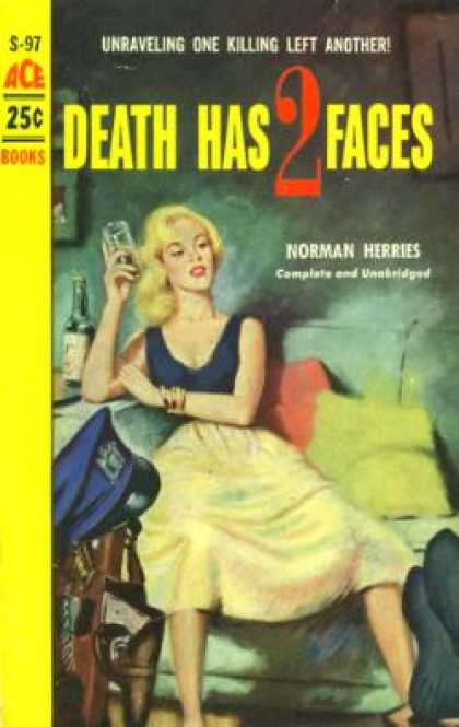 Ace Books - Death Has Two Faces - Norman Herries