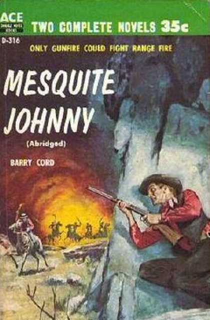 Ace Books - Mesquite Johnny / a Time for Guns - Barry Cord