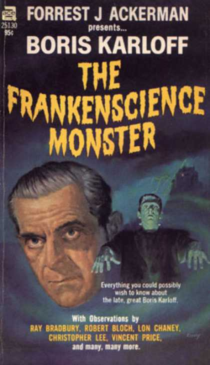 Ace Books - The Frankenscience Monster - Forrest J. Ackerman