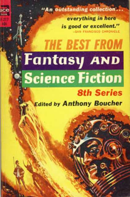 Ace Books - The Best From Fantasy and Science Fiction 1959