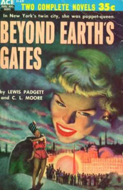 Ace Books - Daybreak, 2250 A.d. / Beyond Earth's Gates - Andre Norton