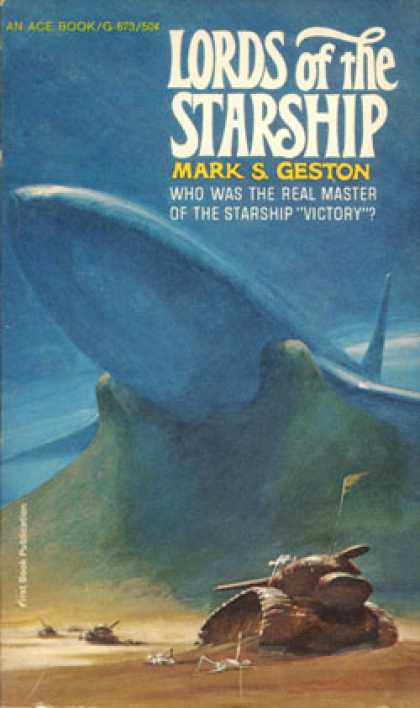 Ace Books - Lords of the Starship - Mark S. Geston