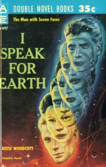 Ace Books - Wandl the Invader / I Speak for Earth - Ray Cummings