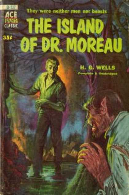 Ace Books - The island of Dr. Moreau - H. G. Wells