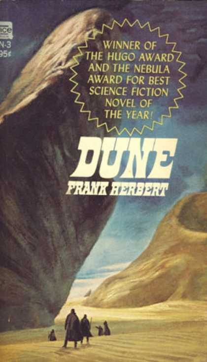 Ace Books - Dune the Ace *pirate* Edition - Frank Herbert