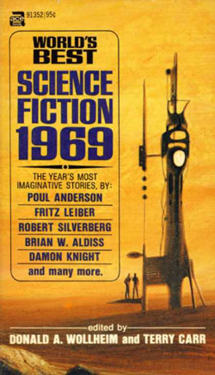 Ace Books - World's Best Science Fiction 1969