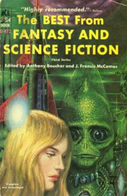 Ace Books - Best From Fantasy and Science Fiction: 3rd Series - Anthony Boucher