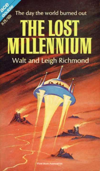 Ace Books - The Road To the Rim / the Lost Millennium - A. Bertram Chandler