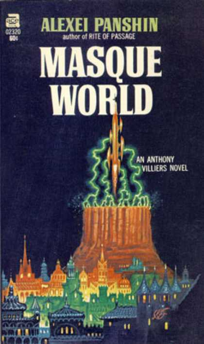 Ace Books - Masque World - Ace 02320