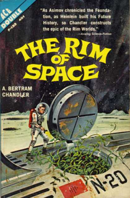Ace Books - The Rim of Space - A. Bertram Chandler