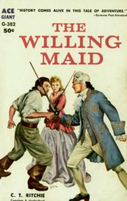 Ace Books - The Willing Maid