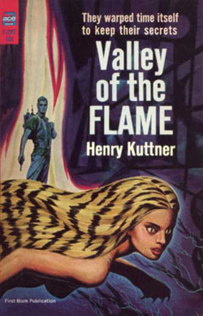 Ace Books - Valley of the Flame - Henry Kuttner