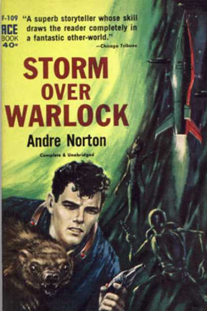 Ace Books - Storm Over Warlock
