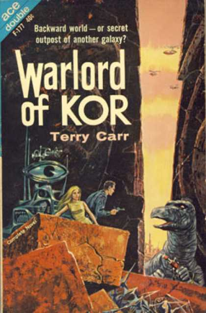 Ace Books - Warlord of Kor & Star Wasps - Terry Carr