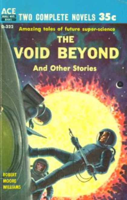 Ace Books - The Void Beyond / the Blue Atom - Robert Moore Williams