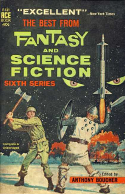 Ace Books - The Best From Fantasy and Science Fiction Sixth Series - Anthony Boucher