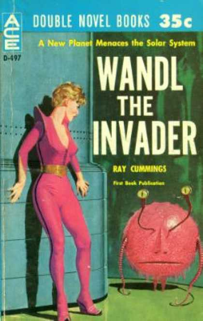 Ace Books - I Speak for Earth and Wandl the Invader - Keith and Ray Cummings Woodcott