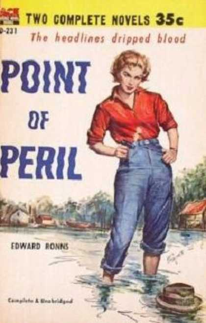Ace Books - Point of Peril - Edward Ronns