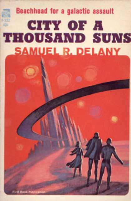 Ace Books - City of a Thousand Suns - Samuel R. Delany