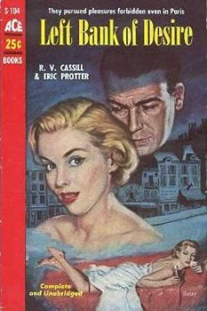Ace Books - Left Bank of Desire - R. V Cassill