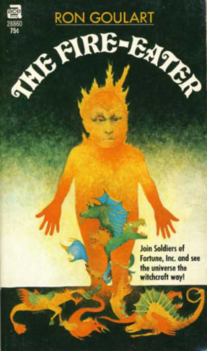 Ace Books - The Fire-eater - Ron Goulart