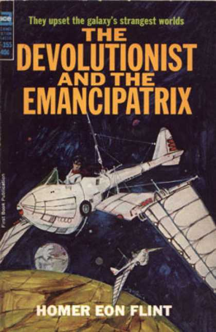 Ace Books - The Devolutionist and the Emancipatrix - Homer Eon Flint