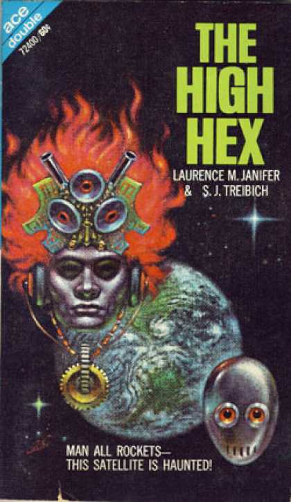 Ace Books - The Rim Gods and the High Hex - A. Bertram Chandler