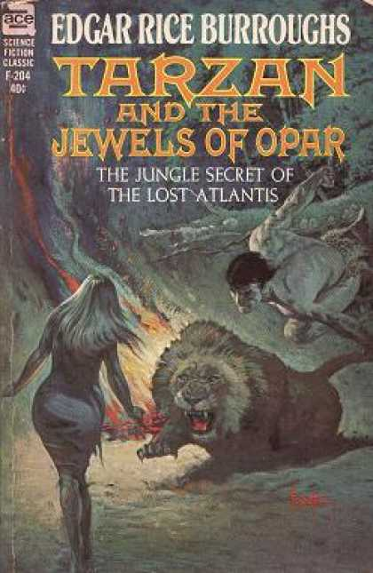 Ace Books - Tarzan and the Jewels of Opar